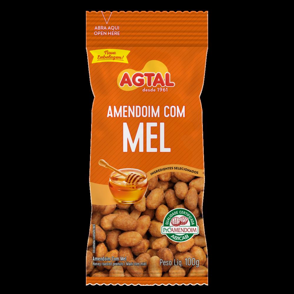 Amendoim com Mel Agtal 100g