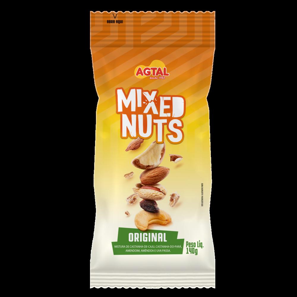 Mixed Nuts Original Agtal 140g