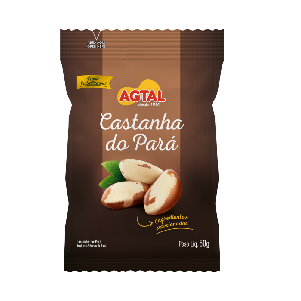 Castanha do Pará Agtal 50g