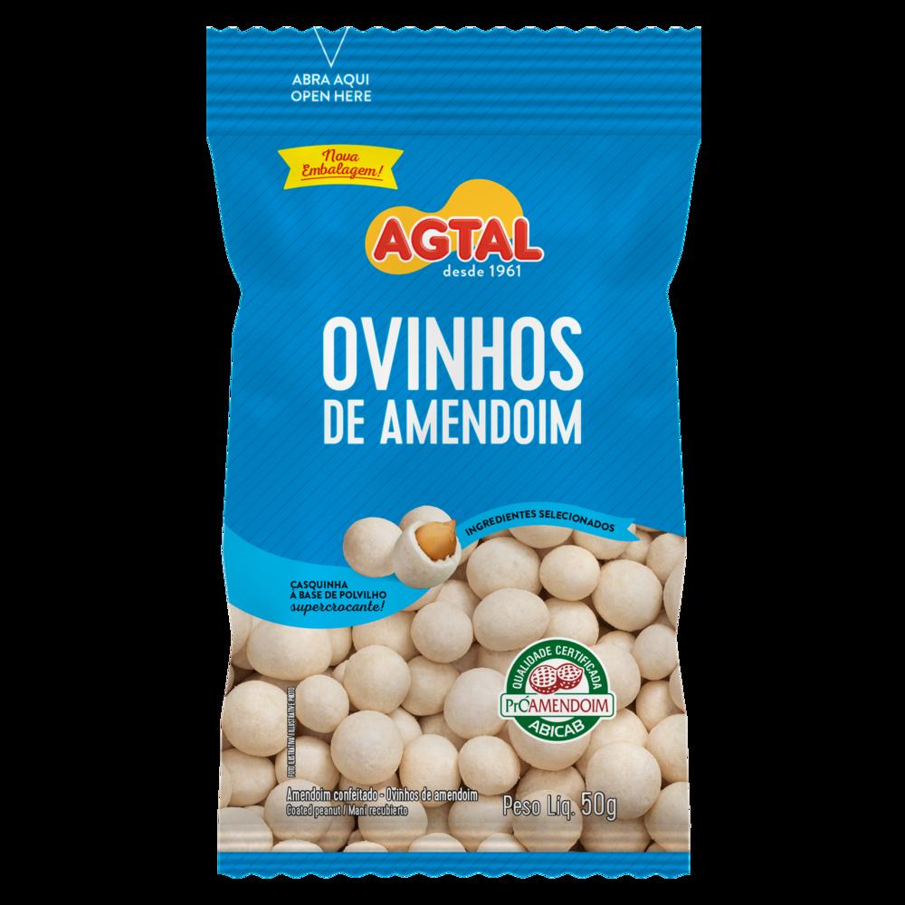 Ovinhos de Amendoim Agtal 50g